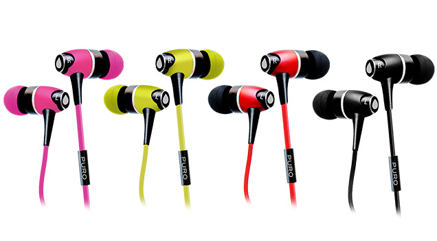 Auricolari stereo in-ear Puro IPHF12 per iPhone, Samsung e Nokia