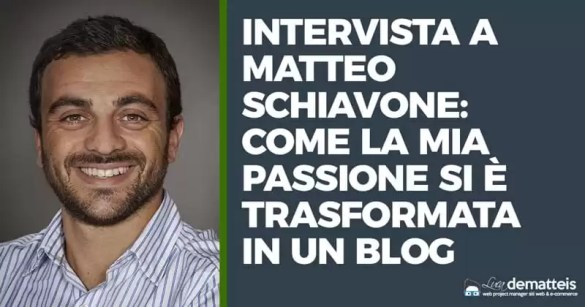 Intervista blog Schiavone