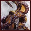 2011 - Morra del mare, composizione. Sea's morra, composition. 135x45.