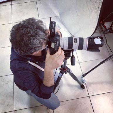 backstage servizio fotografico