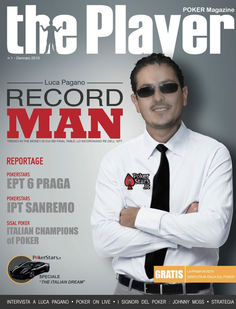 Il Record Man – Poker Magazine 2010