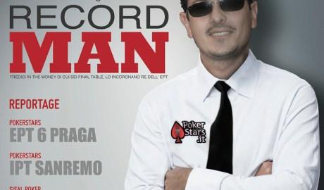 Il Record Man – Poker Magazine 2010