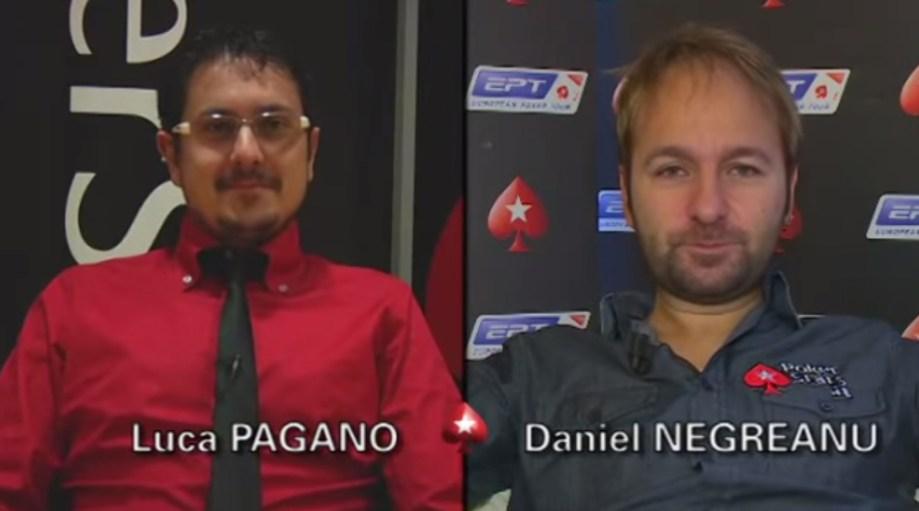 Intervista doppia: Luca Pagano vs Daniel Negreanu