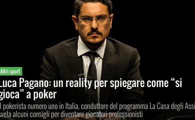Un reality per spiegare come si gioca a poker – Panorama, 2015