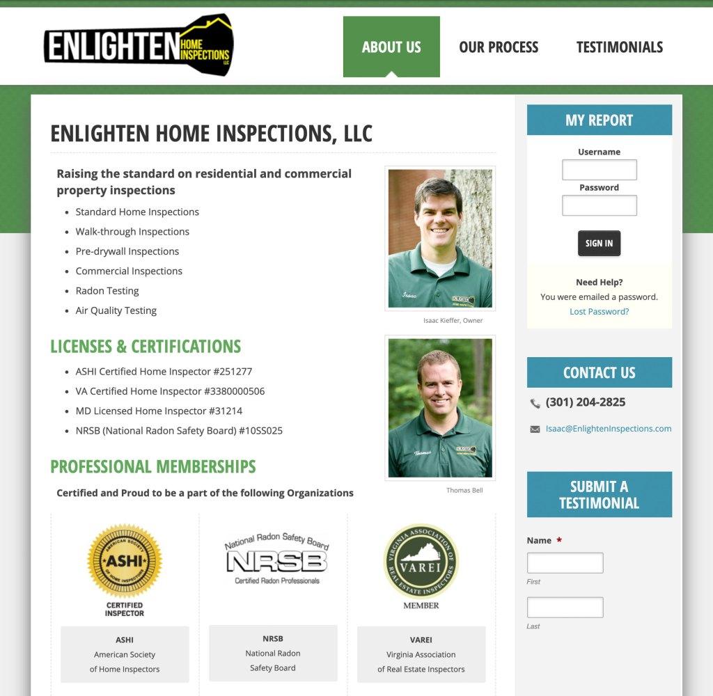 Enlighten Inspections