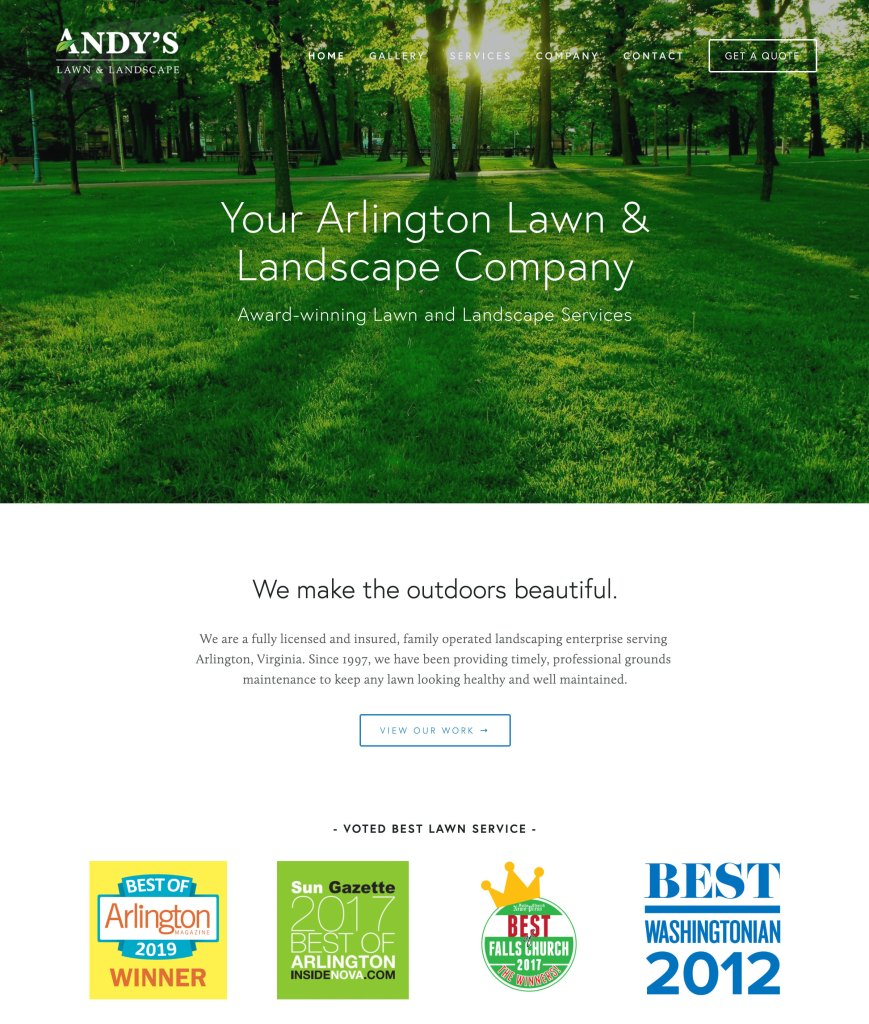 Andy's Lawn and Landscape