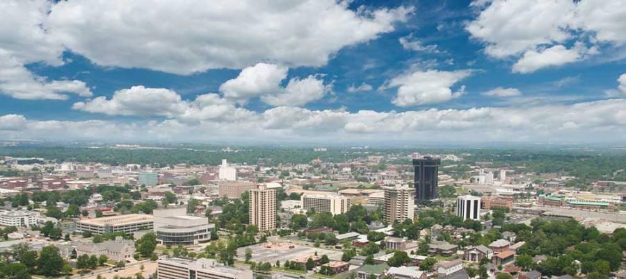 Springfield Missouri Skyline