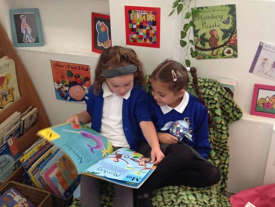 We Love to Read in Reception
