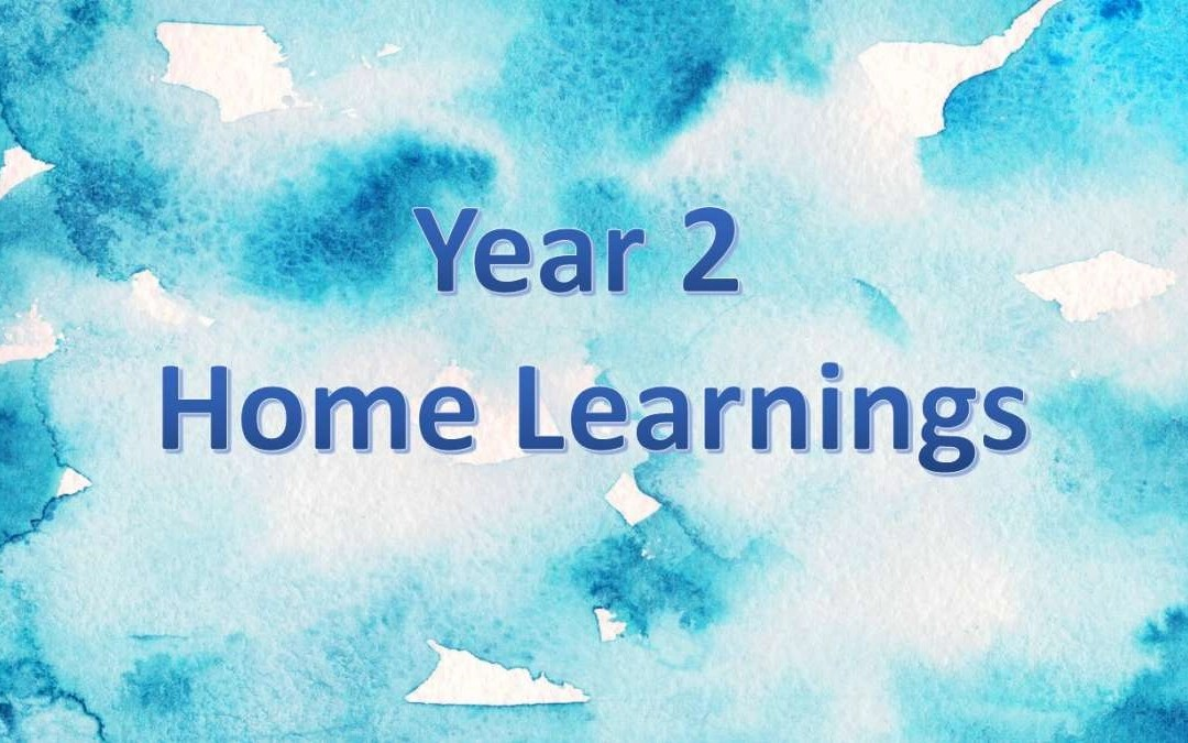 Year 2 Home Learning (7)