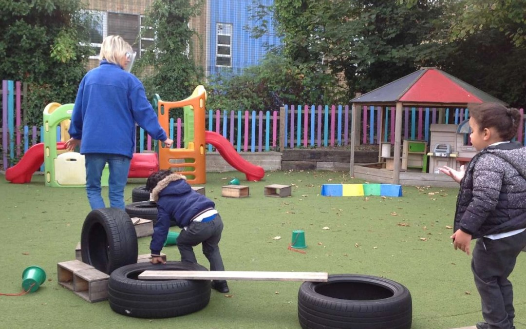 Refurbished Outside Space for Nursery
