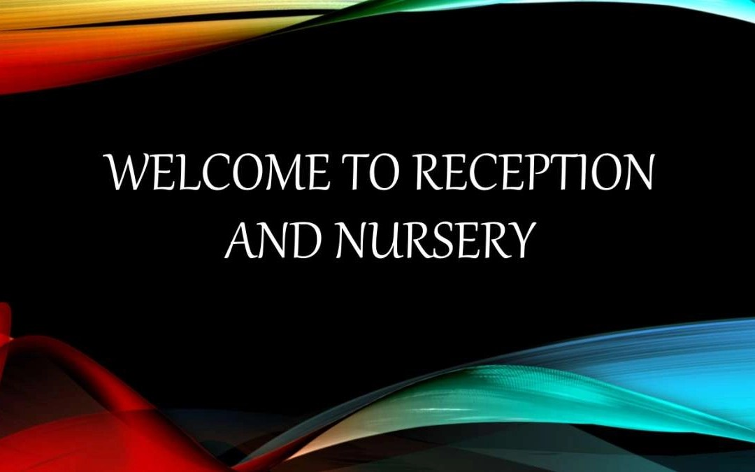 Welcome to Reception and Nursery at Lucas Vale