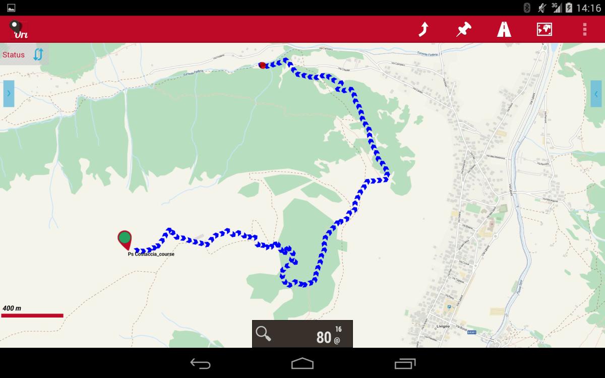 """Navigatore per Bici"", le mappe offline"