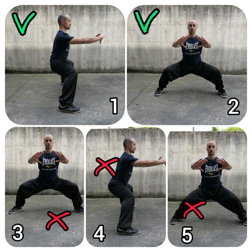 Fondamentali An Wushu: come allenare la posizione Mǎ Bù 马步 nel Kung Fu
