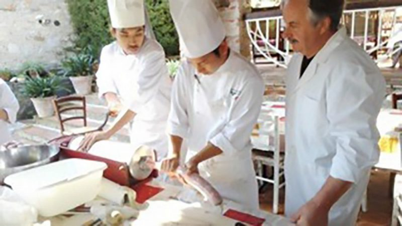 お肉の加工品の授業-2017年9月本科コース(50‐A期)