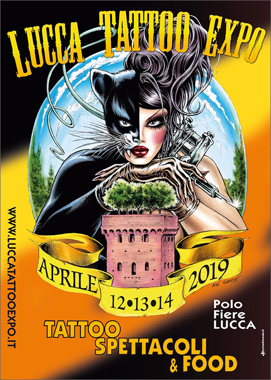 Image result for lucca tattoo expo 2019 lucca