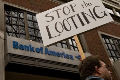 La monstruosa especulación, la corrupción y la ineptitud de los bancos fue la causa inmediata de la crisis financiera de 2008 / Imagen: Lisa Norwood