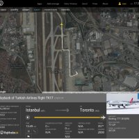 Turkish Airlines Boeing 777 to Toronto evacuated before departure after bomb threat on toilet wall