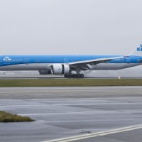 KLM welcomes 13th and latest Boeing 777-300 at Schiphol