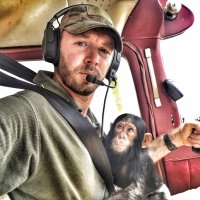 Virunga pilot Anthony Caere (Flying Doctors - één) recovers from serious head injury after plane crash