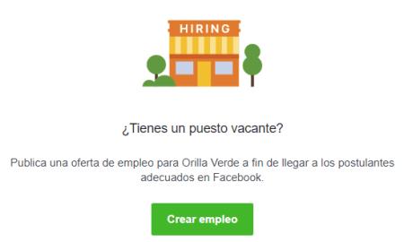 Facebook te ayuda a publicar ofertas de empleo