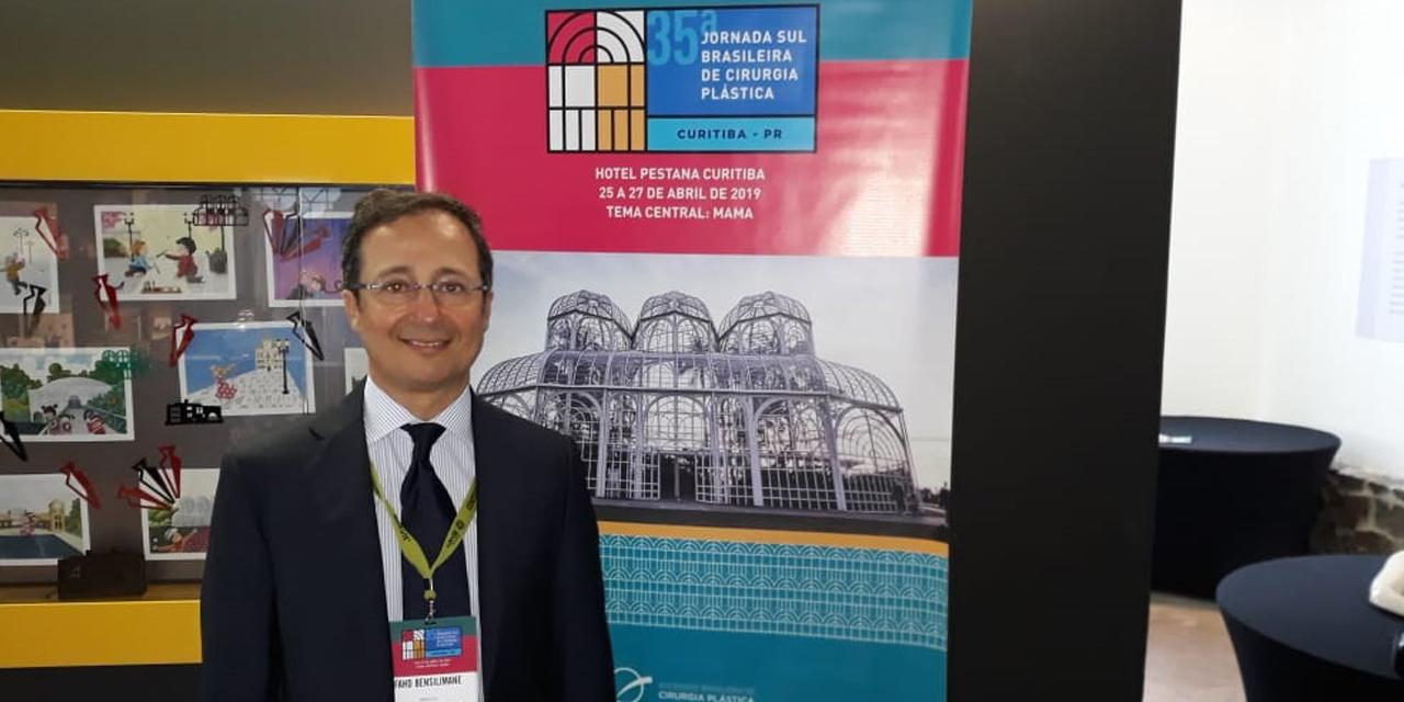 Dr. Fahd Benslimane Participa Da 35ª Jornada Sul Brasileira De Cirurgia Plástica
