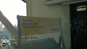 Lisbona - Vueling - Bon dia, buenos dias, good morning