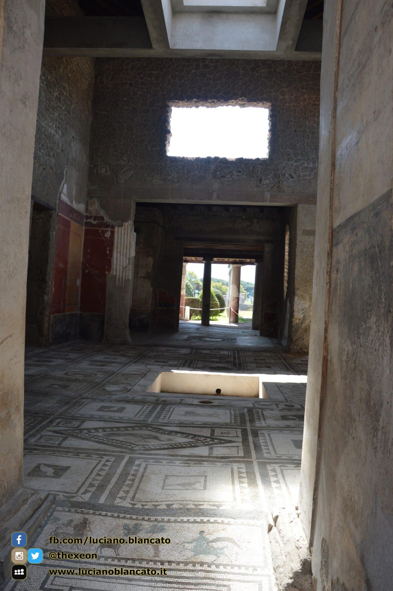 copy_Pompei - scavi - dettaglio e affreschi