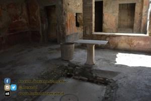 Pompei - Scavi - dettagli abitazione