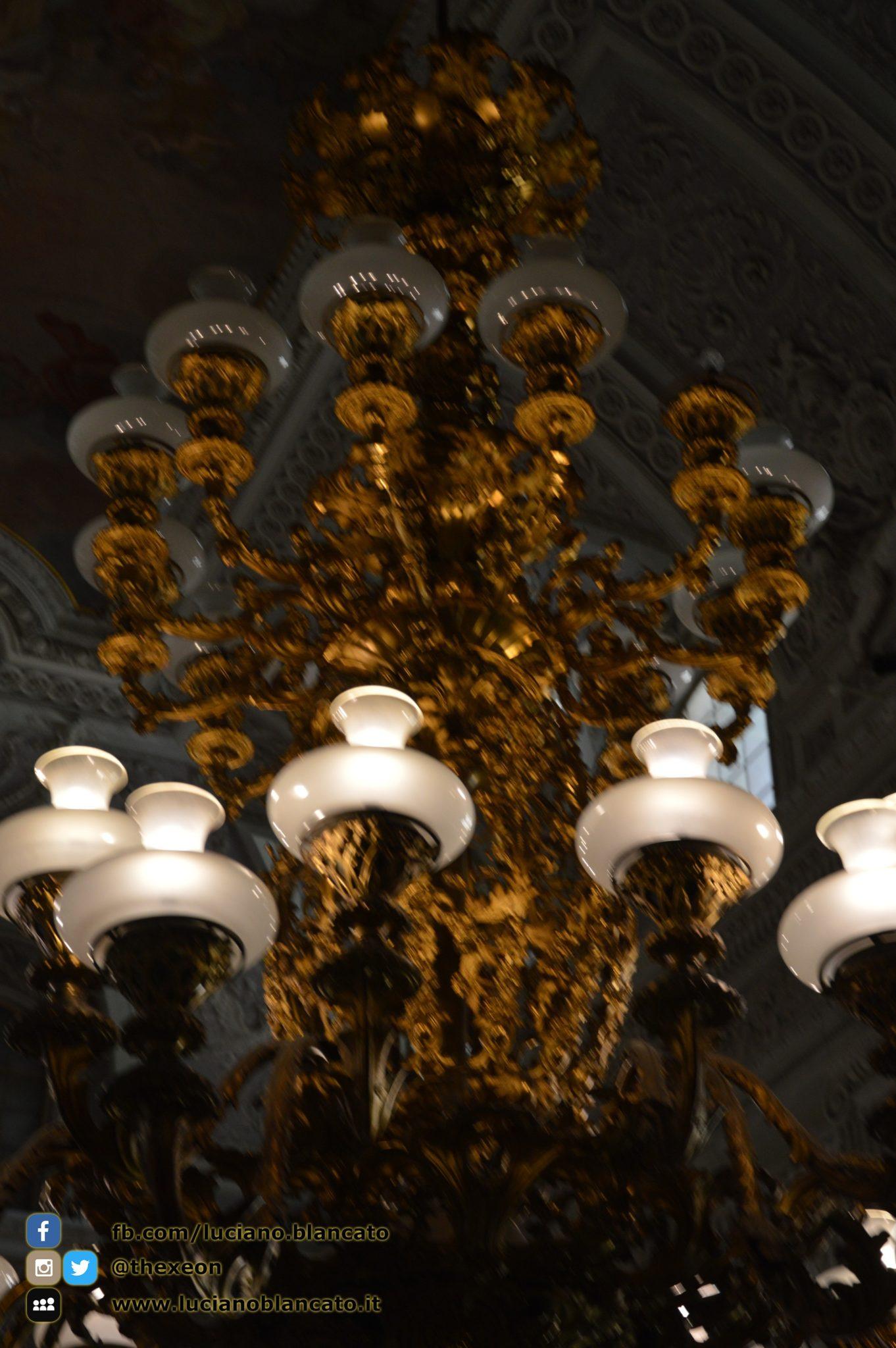 copy_Reggia di Caserta - Appartamenti reali - dettaglio lampadario salone