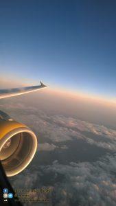 Santiago de Compostela - in volo verso santiago con Vueling