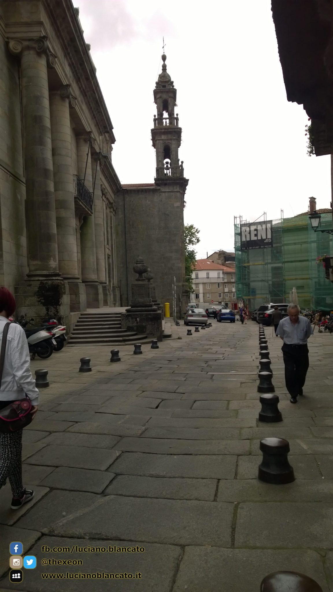 Santiago de Compostela - università