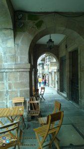 Santiago de Compostela - portico del pellegrino