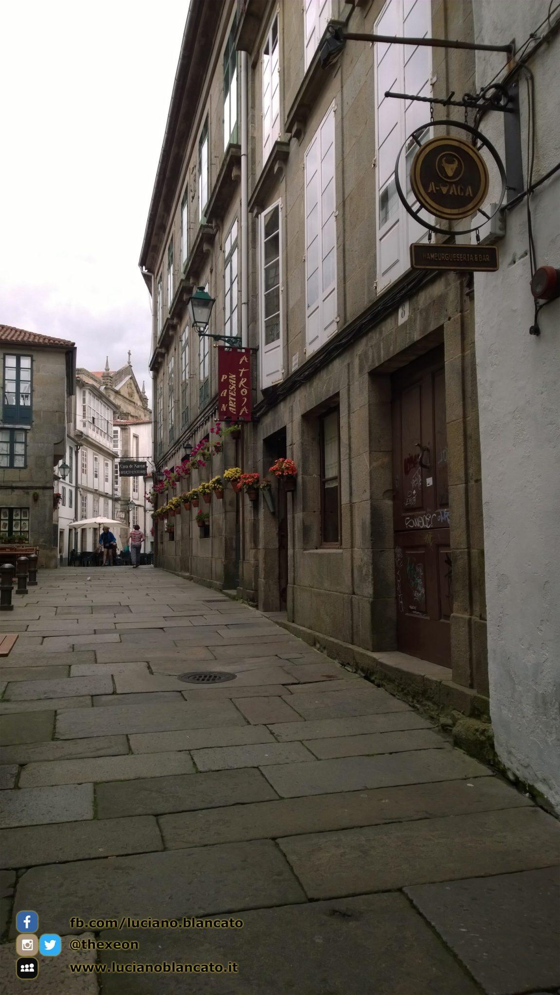 Santiago de Compostela - girando per il centro della città