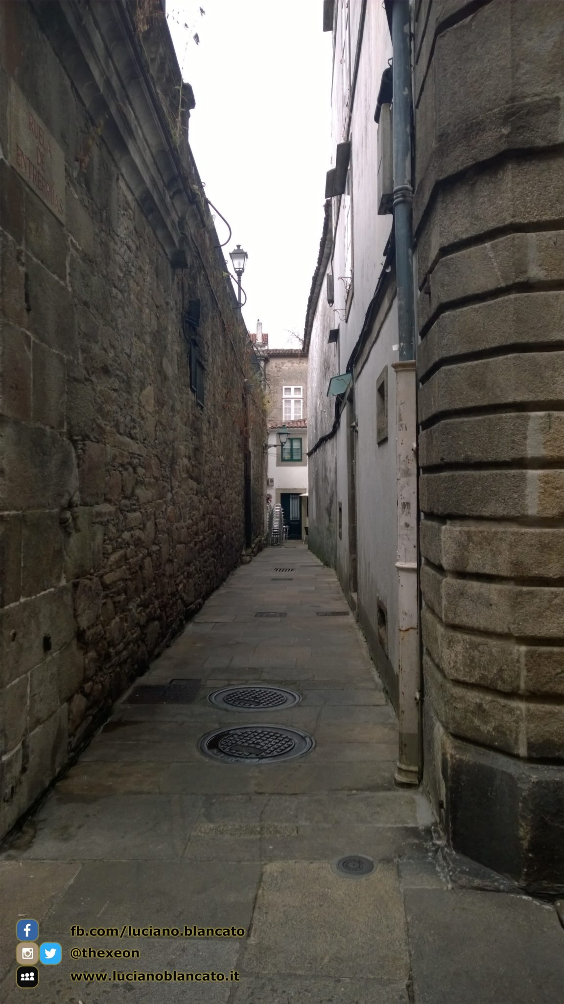 Santiago de Compostela - viuzze del centro