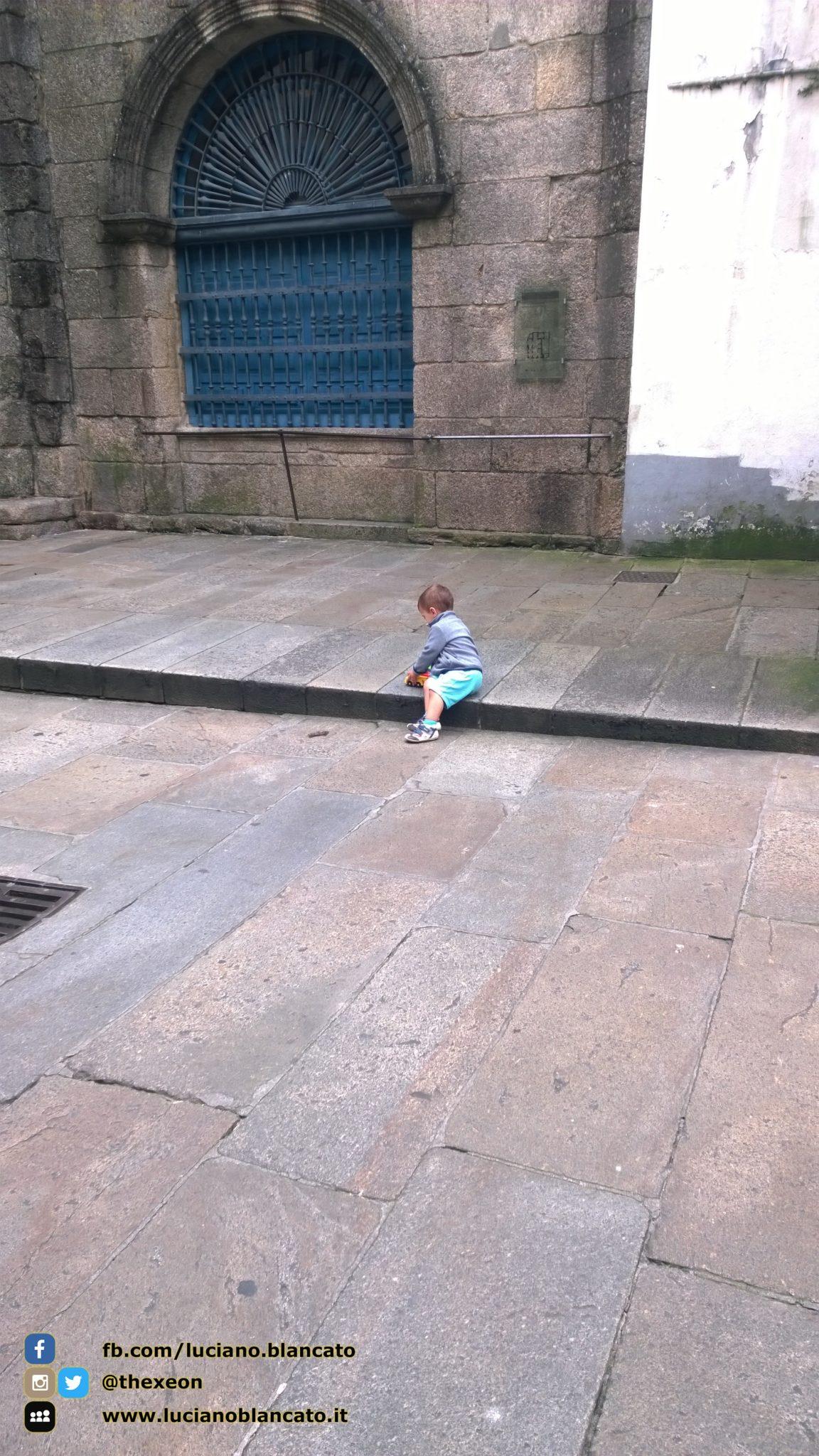 Santiago de Compostela - piccoli pellegrini crescono!