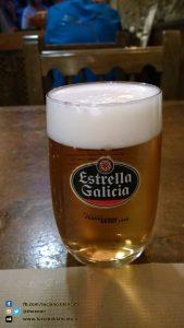 Santiago de Compostela - Birra ESTRELLA, birra di Galicia