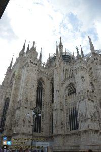 copy_2_Milano - dettaglio del duomo