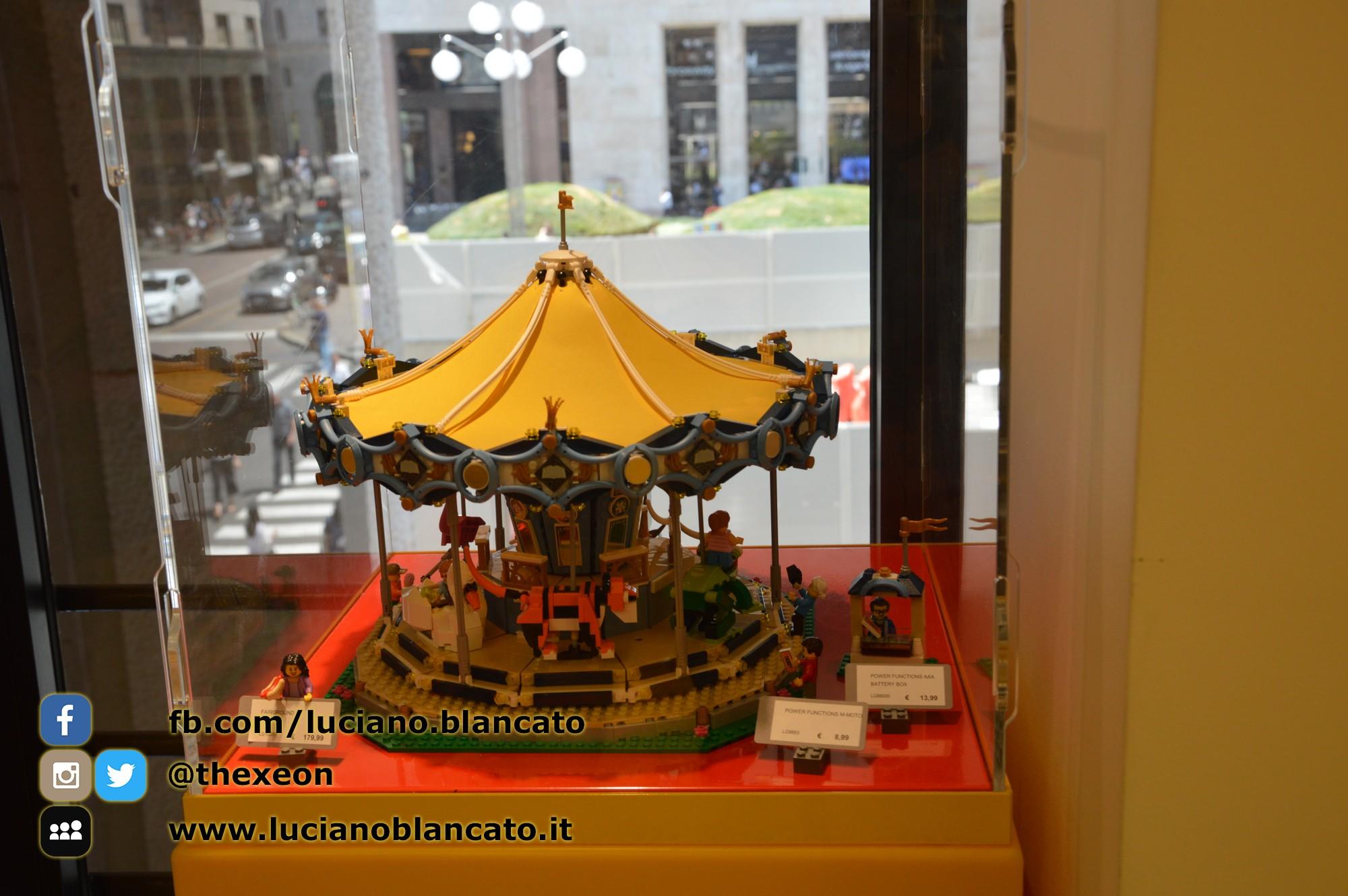 Milano - Lego Store - carosello