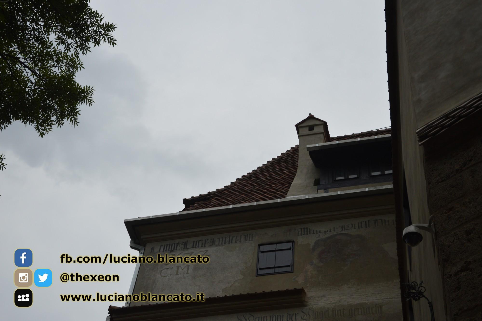 copy_Bucarest - Castello di Bran - Vista del castello