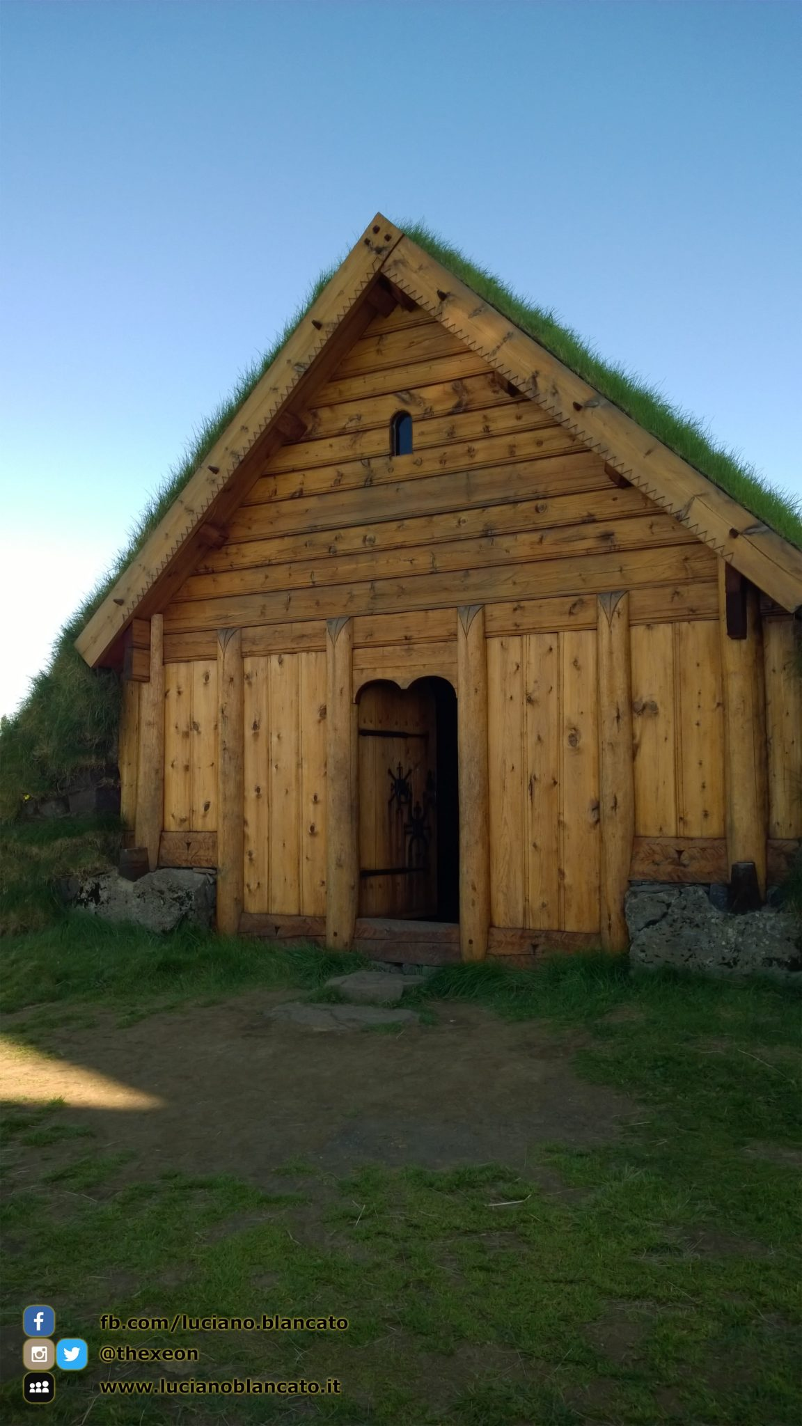 Iceland - Chiesa tipica