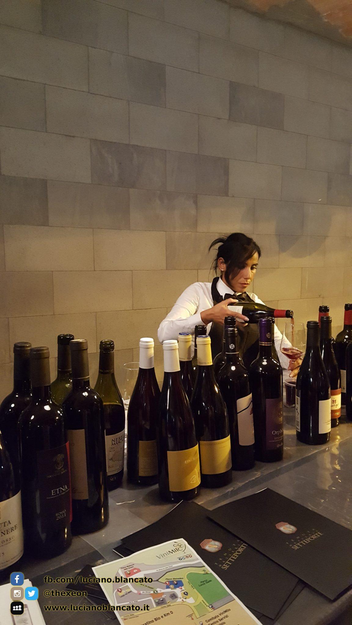 ViniMilo 37a edizione - Bottiglie di vino e sommelier