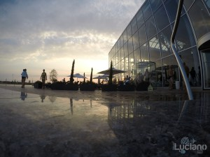 Terme di Bucarest piscina esterna - Therme Bucuresti