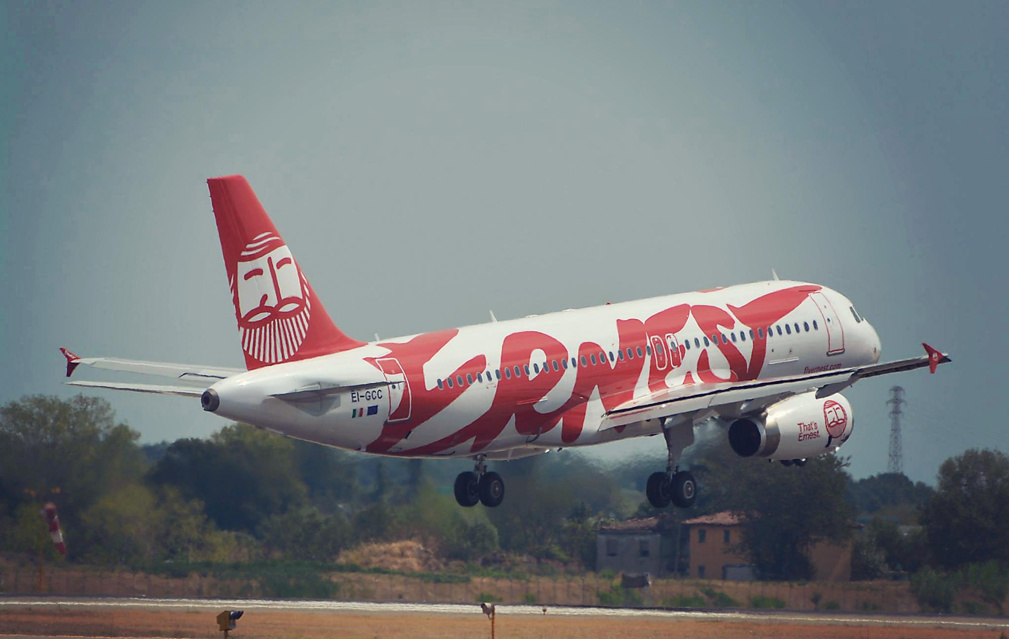 Ernest: A320 decollo