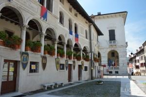 Piazza Maggiore - Feltre -  Veneto