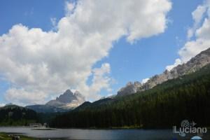 Lago di Misurina e dolomiti - Veneto