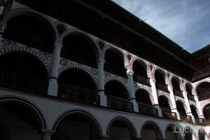 Vista dal cortile interno del Monastero di Rila, Рилски Манастир, Rilski Manastir - Sofia - Bulgaria