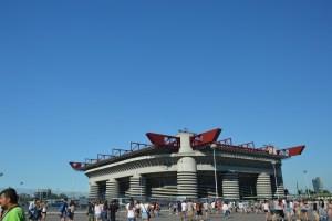 Stadio San Siro - Piazzale Angelo Moratti - Milano - Lombardia - Italia