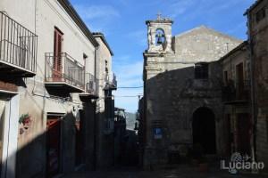 Chiesa delle Anime Purganti nel borgo di Petralia Soprana - Palermo -  I Borghi più belli d'Italia - Borgo più bello d'Italia 2018