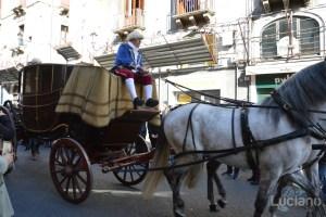 Carrozza del Senato in via Etnea, apertura della festa di Sant'Agata 2019 - Catania (CT)