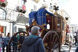 Carrozza del Senato, apertura della festa di Sant'Agata 2019 - Catania (CT)